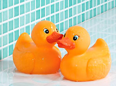 FYI: You might want to cover your rubber ducky's eyes.' /'